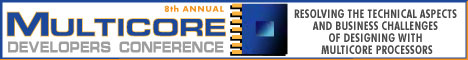 8th Annual Multicore Developers Conference Banner